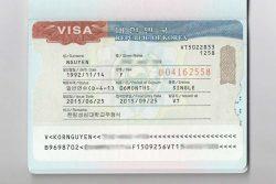 Ho So Xin Visa Han Quoc Theo Tour Ca Nhan 2