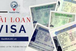 Xin Visa Di Dai Loan Co Kho Khong